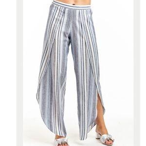 Anthropologie Drew linen blend pants s small